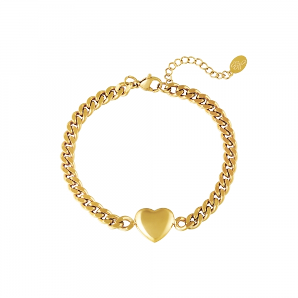 Pulsera chained heart