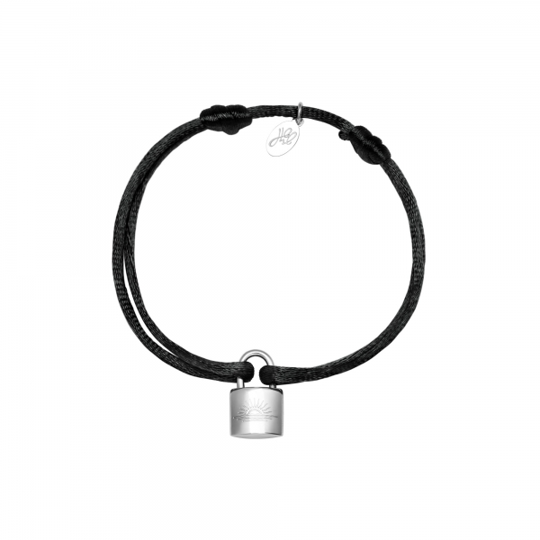 Pulsera satin lock