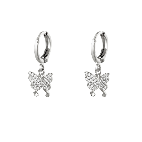 Boucles d'oreilles Flying diamonds