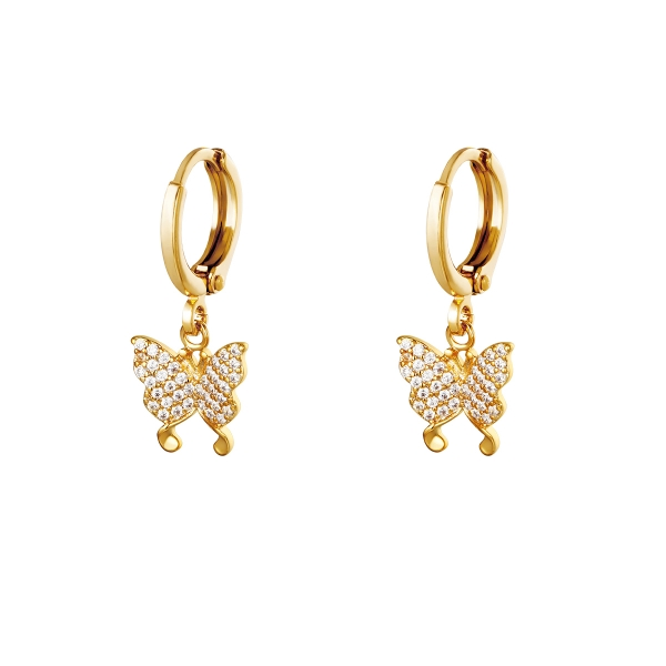 Pendientes Flying diamonds