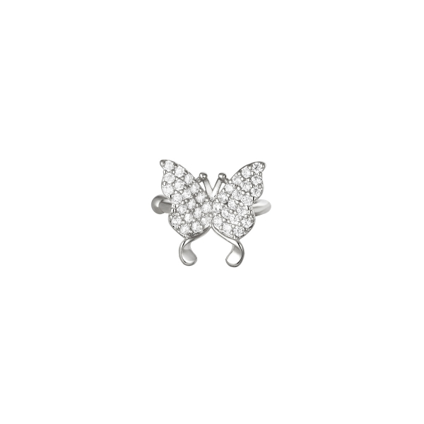 Earcuff Flying diamonds