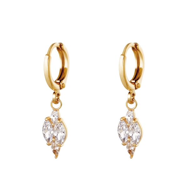 Boucles d'oreilles Shining Diamond