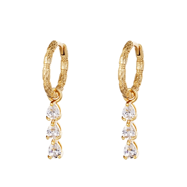 Ohrringe Diamonds In A Row