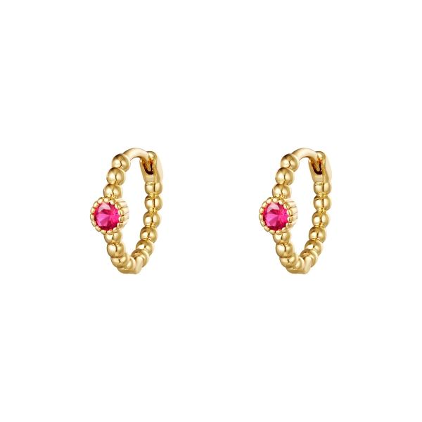 Earrings Pearls In A Row