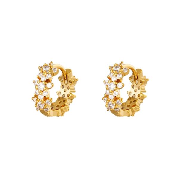 Boucles d'oreilles monarch