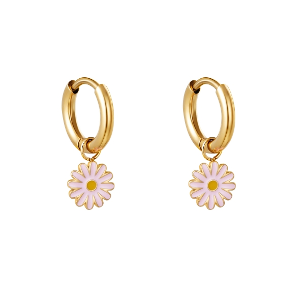 Earrings petals