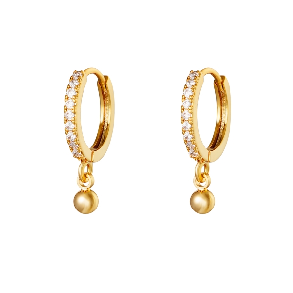 Boucles d'oreilles Diamond Dot