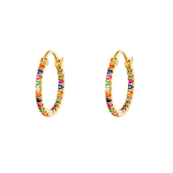 Earrings hooplala