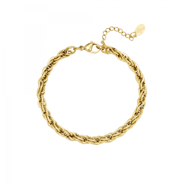 Bracelet twisted chain