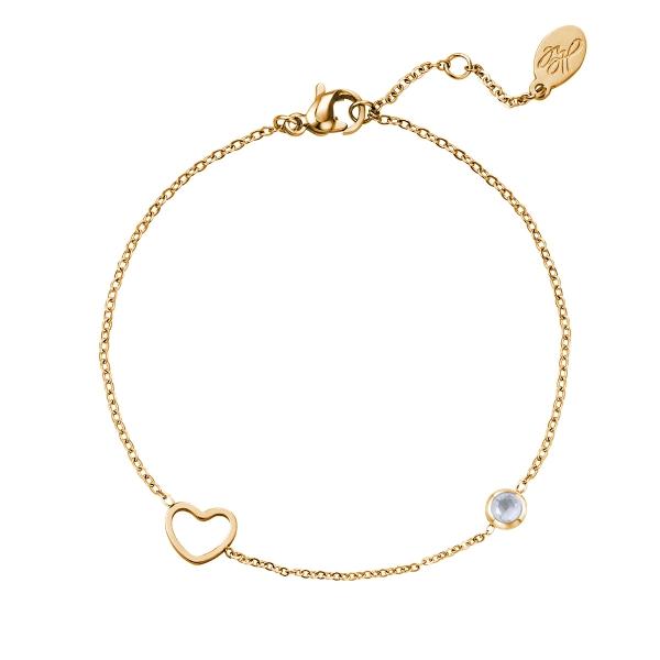 Bracelet pierre de naissance juin or