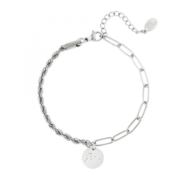 Bracelet signe du zodiaque Verseau