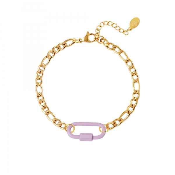Bracelet coloured lock