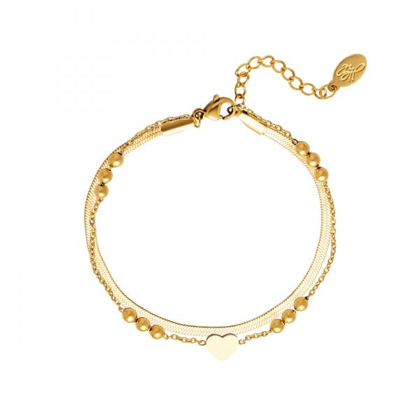 Bracelet multi-chaînes