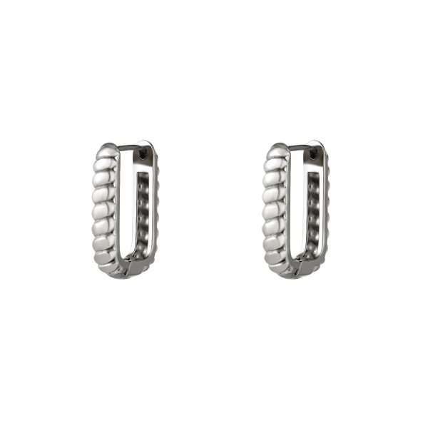 Baquette rectangle earrings small