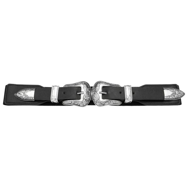 Riem double cowboy buckle