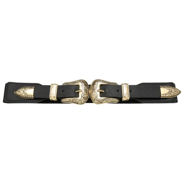 Cinturón double cowboy buckle