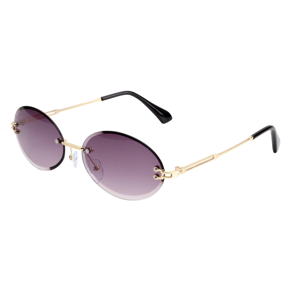 Sunglasses oval eye