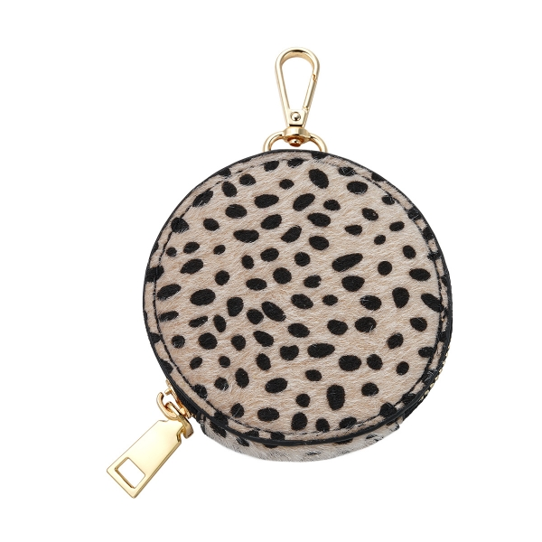 Pouch in dotted pattern