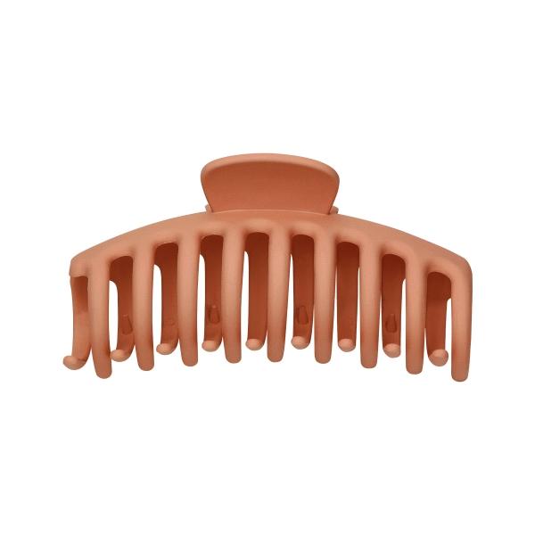 Grote haarclip matte afwerking