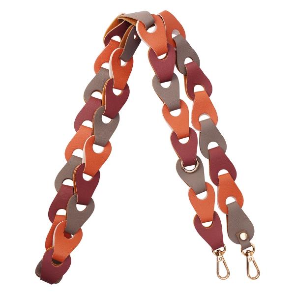 PU bag strap multi color