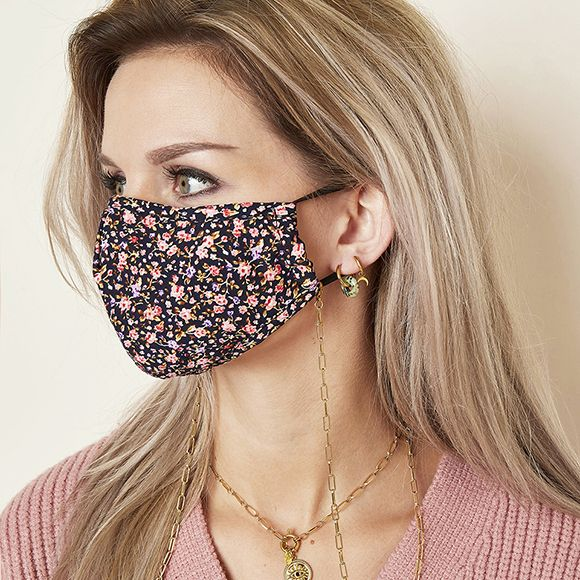 Face mask / sunglasses cord linked