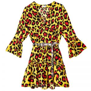 Dress Leopard On Fire