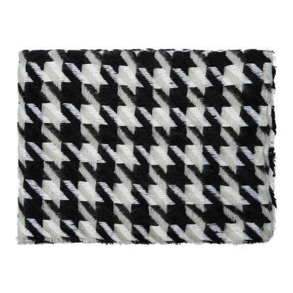 Scarf houndstooth