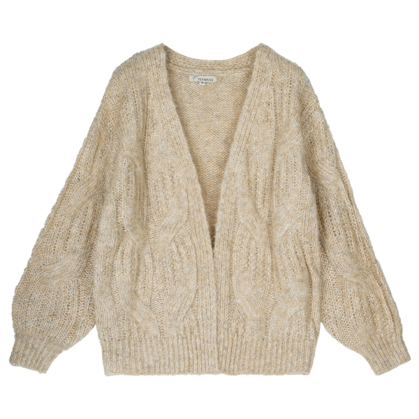 Cardigan big cable