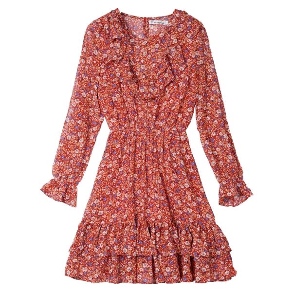 Vestido fall flower