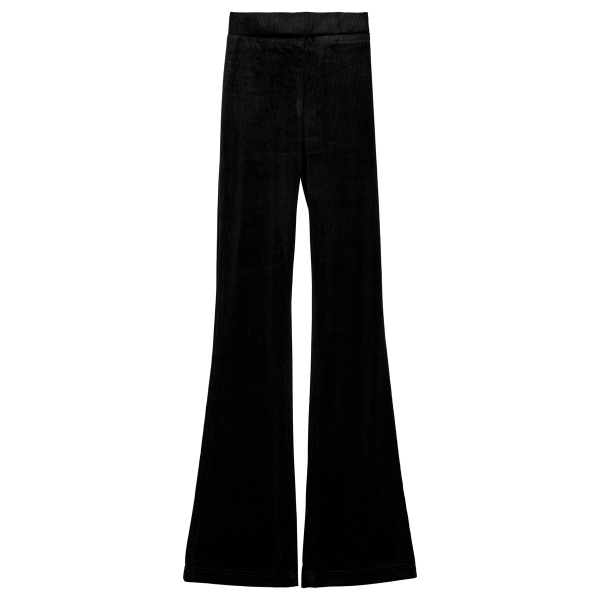 Pantalon flair black