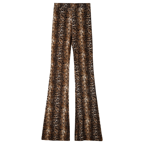 Broek flare jungle