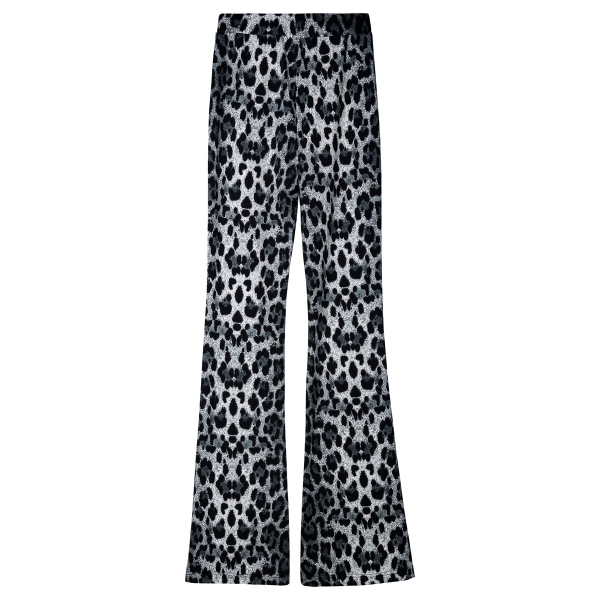 Trouser flare grey panther