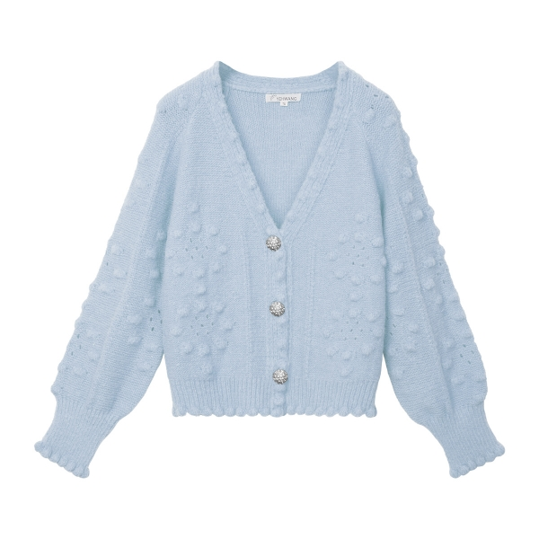 Cardigan cotton candy