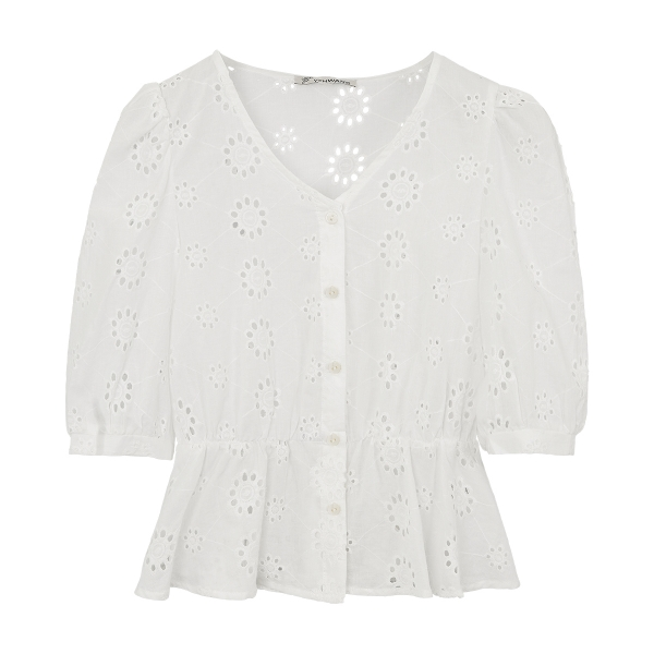 Broderie Anglaise Oberteil