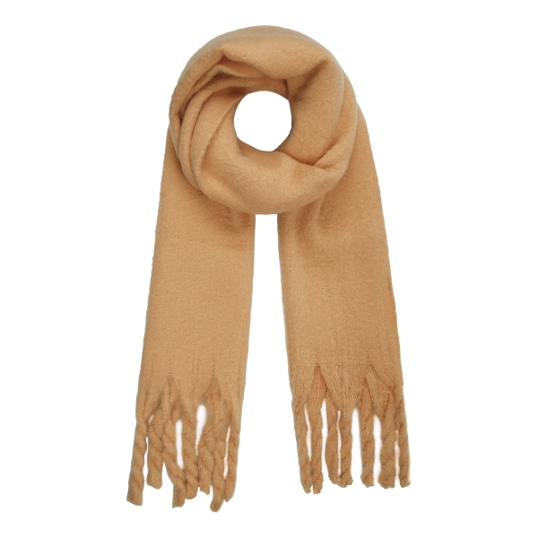 Winter scarf solid color