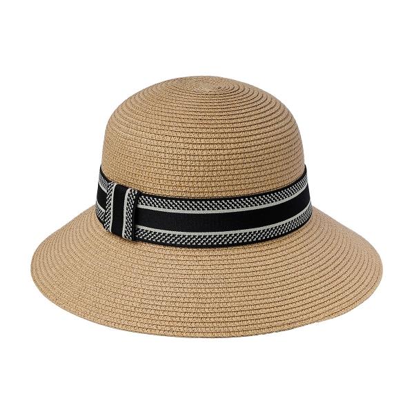 Sombrero de verano marrón