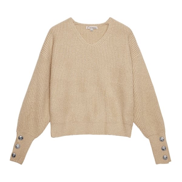 Pull avec boutons