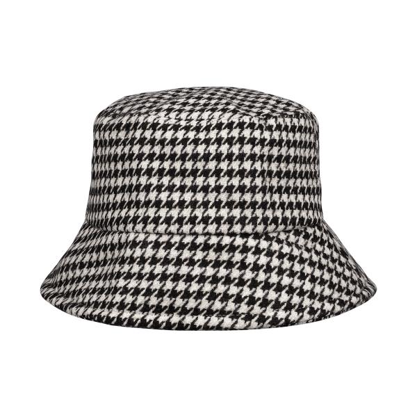 Bucket hat checkered