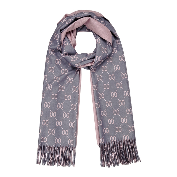 Scarf two tone
