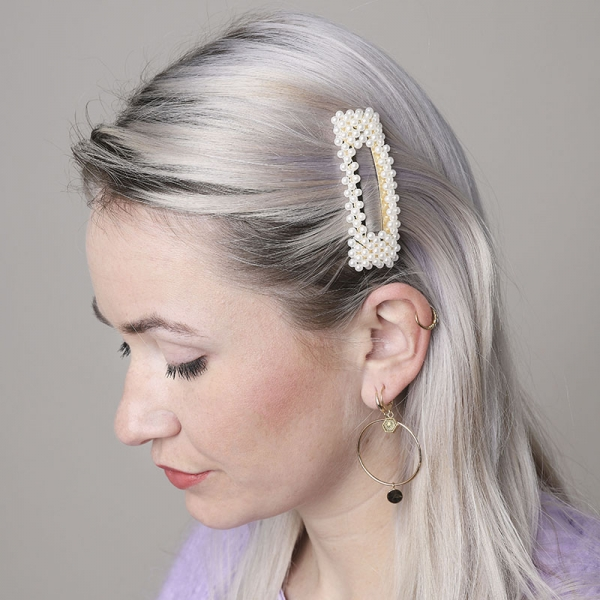 Hairclip pearl with me