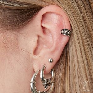 ZOË Earcuffs Moon- set of 2