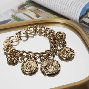 Bracelet Coin Charms