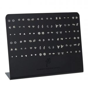 Earrings Display Less Is More - 925 Silver