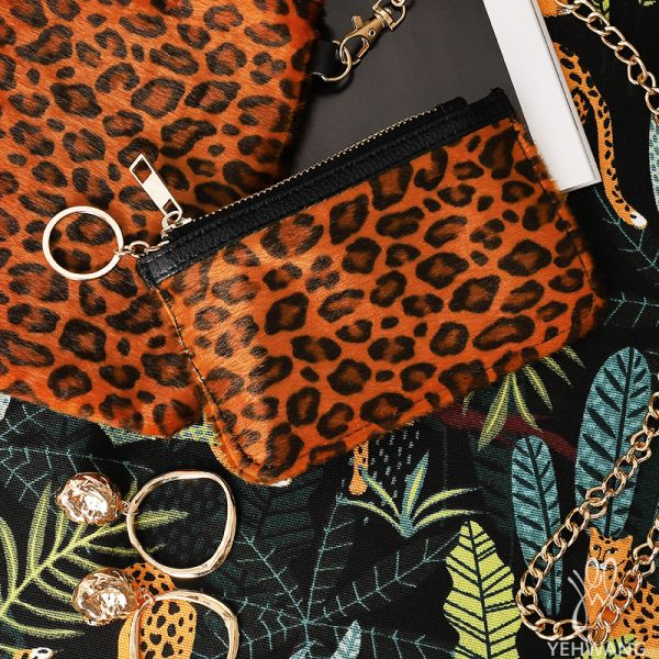 Brieftasche Soft Leopard