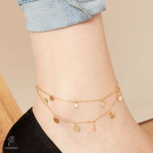 Anklet coin layer