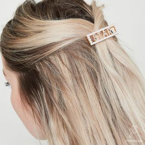 Haarclip Star with Pearls