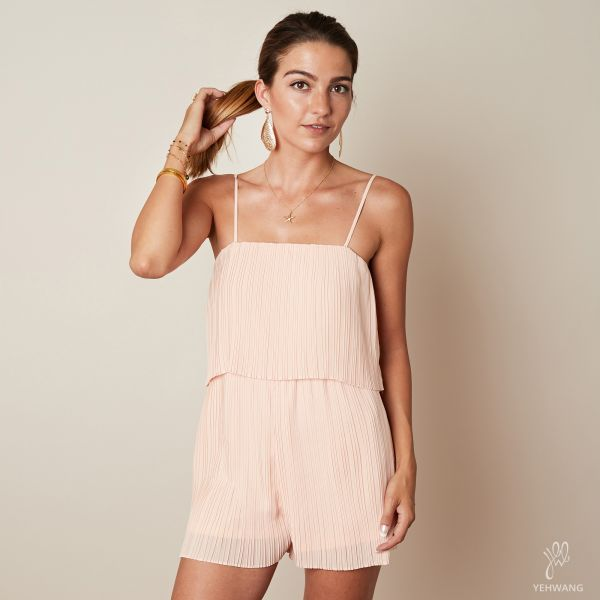 Jumpsuit mini pleated