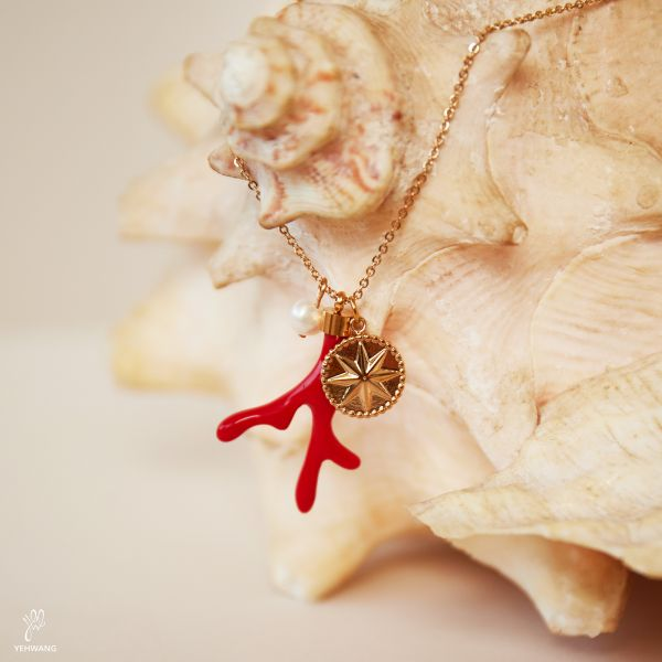 Ketting Red Coral
