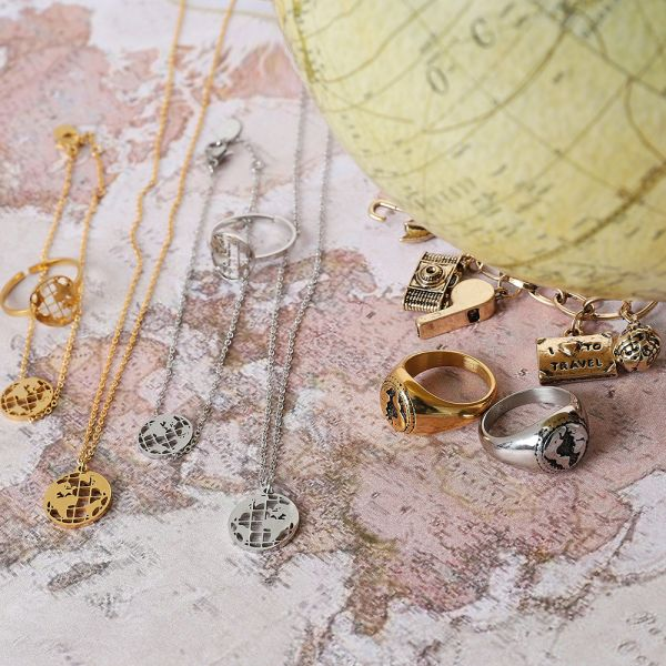 Necklace Around The Globe