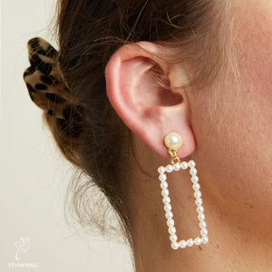 Earrings Pearl Best Friend